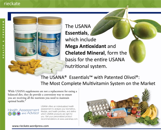 how to drink usana essentials